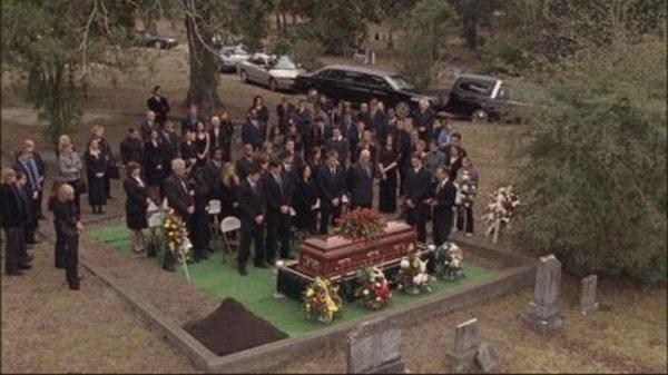 Les enterrements