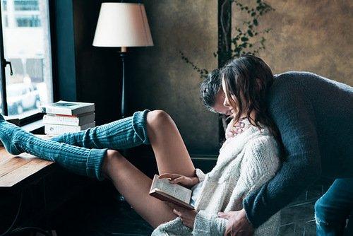Il n'y a rien de meilleur que d'être au chaud avec la personne qu'on aime quand le monde gèle dehors.