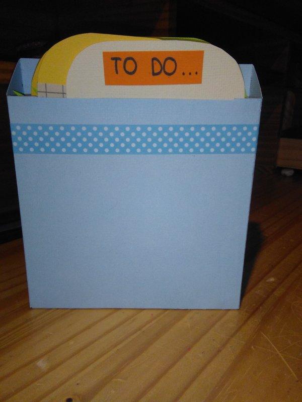 Petites Cartes to do, Notes, Enjoy Life ! <3
