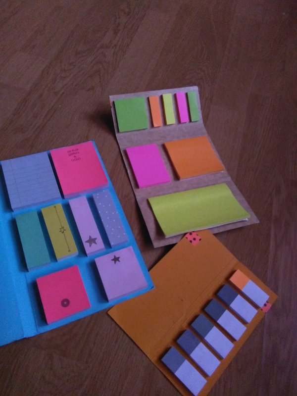 Tuto carnet à post-it