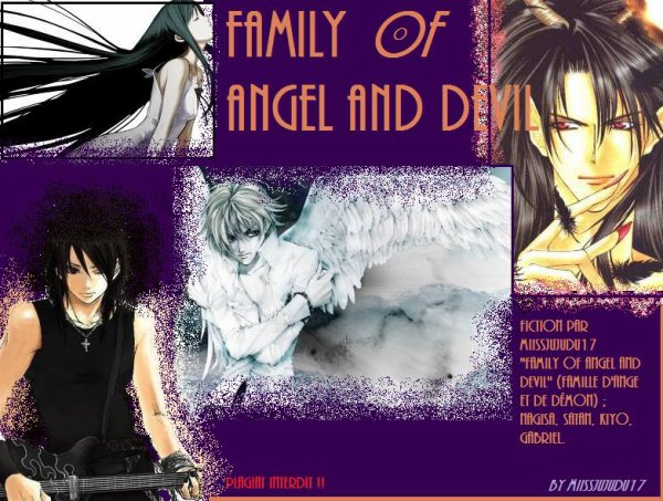 Fic 1 : Family Of Angel and Devil