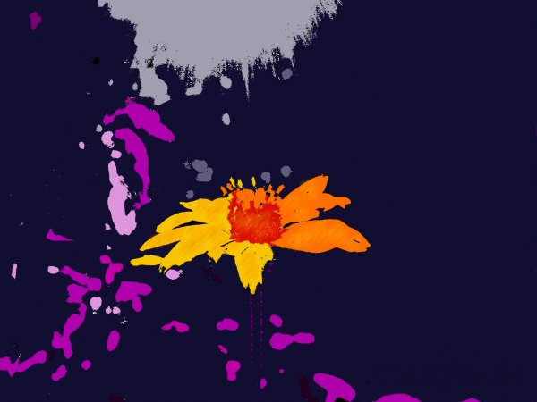 Flower- Pop Art