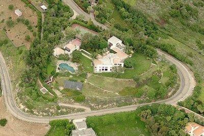 La maison de axl rose a Malibu