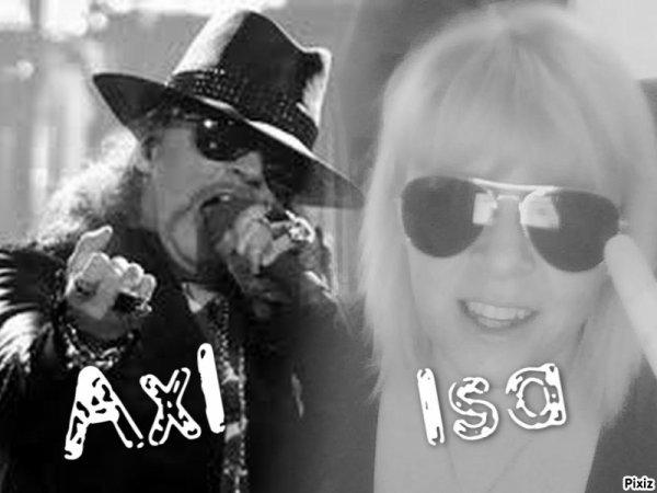 Isa & Axl Rose