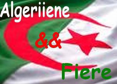 vive l'algerie meme si je suis belge