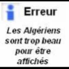 mouah mes Algeriens <3