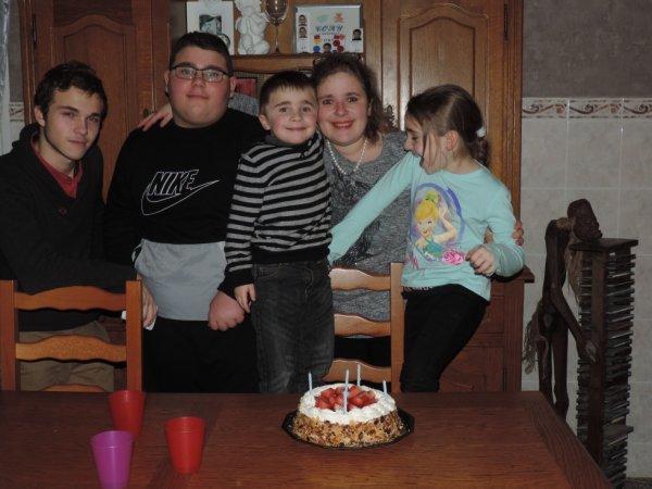 anniversaire de mon petit dernier Cory !!!