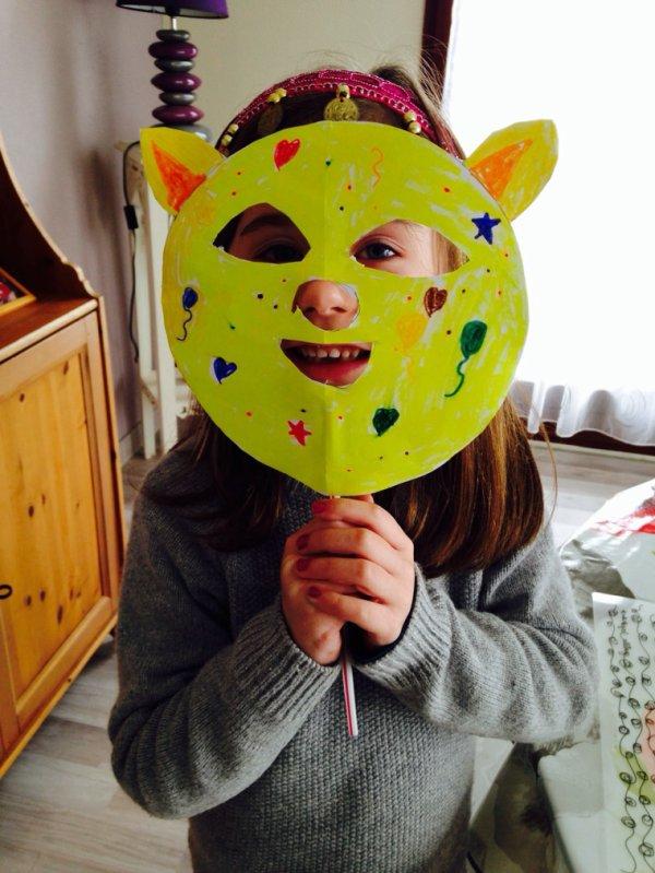 Masque de carnaval ...