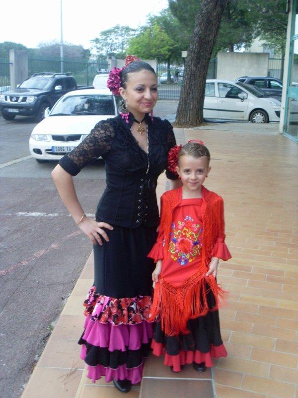 gala de sevillane de mes filles