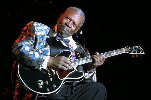 BB King:Guitariste et chanteur tout aussi légendaire que le roi du blues qui vient de s'éteindre à l'age de 89 ans .