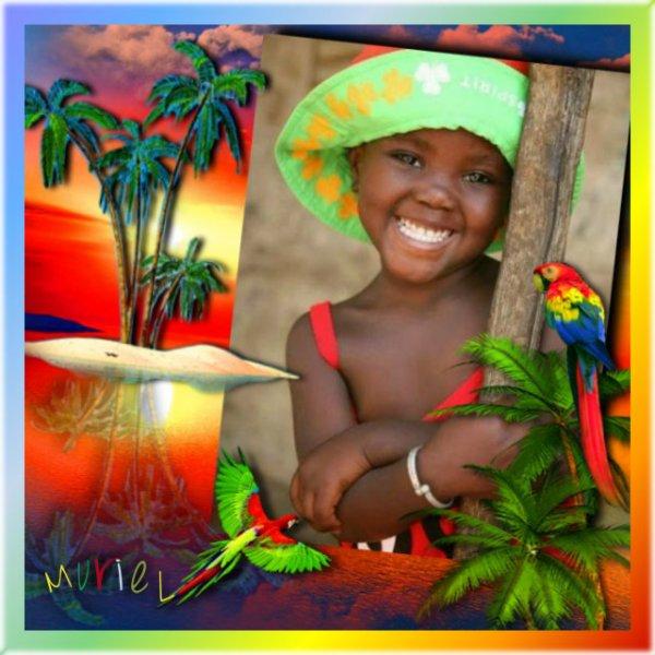 Débuter la journée par un sourire innocent ne peut être que du bonheur.Un enfant souriant, reflète sa gaieté à tous les regards, qu'il fait oublier tous soucis et malheurs.