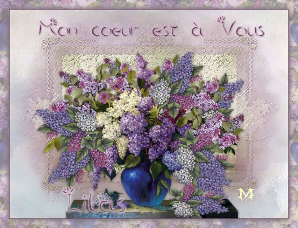 ✿ڰۣ✿ڰۣ✿ ♥♫ Bonjour ✿ڰۣ✿ڰۣ✿ ♥♫ le temps des lilas joli poéme et mélodie✿ڰۣ Amitié✿ڰۣ✿ ♥♫