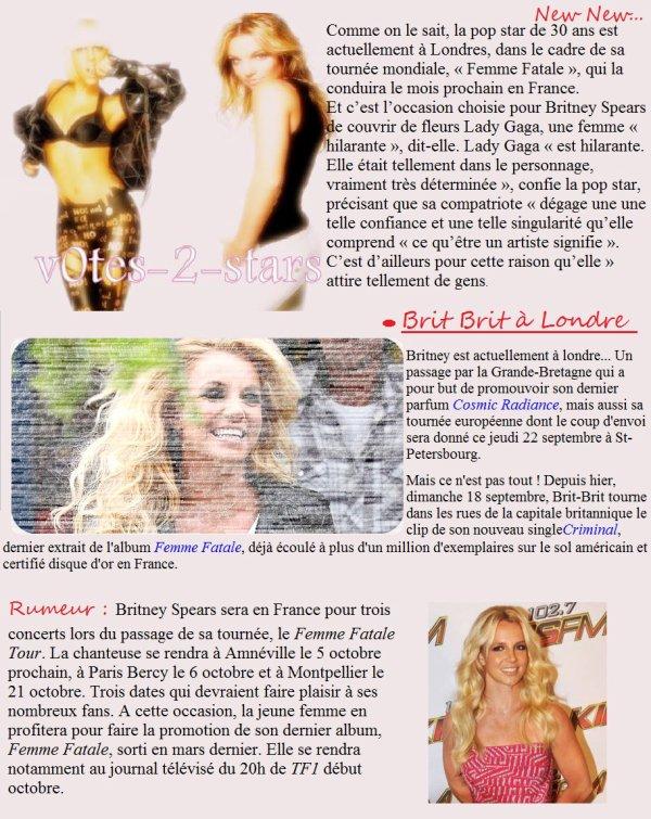 Actu - Britney