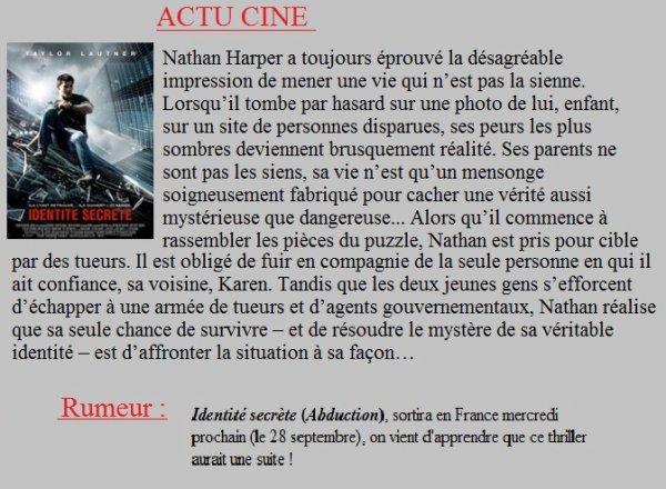 Actu - Taylor Lautner