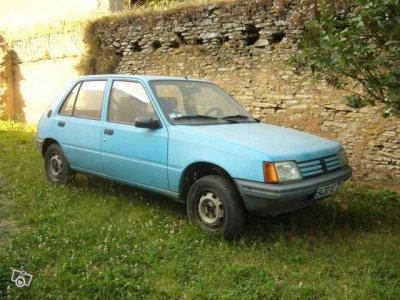 1984 : La 205 Diesel