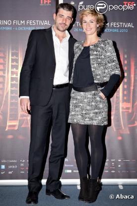 Cécile de France et Thierry Neuvic à la première de Au-delà, au Festival du film de Turin, le 4 décembre 2010