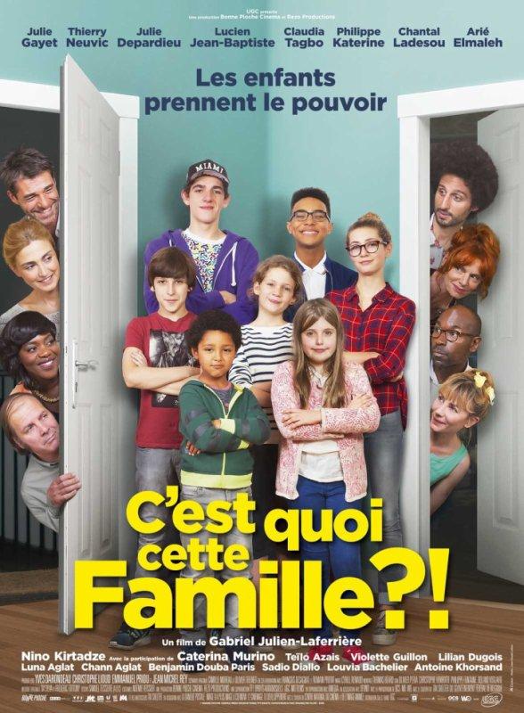 """Sortie du dvd """"C'est quoi cette famille?!"""" le 10 Décembre 2016!"""