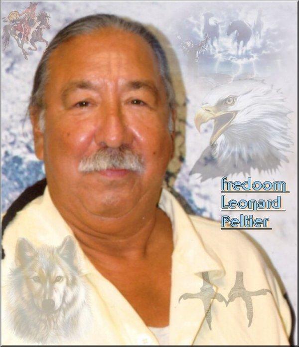 Leonard Peltier toujour en prison
