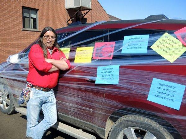 Les Mohawks prêts à ériger des barricades contre TransCanada