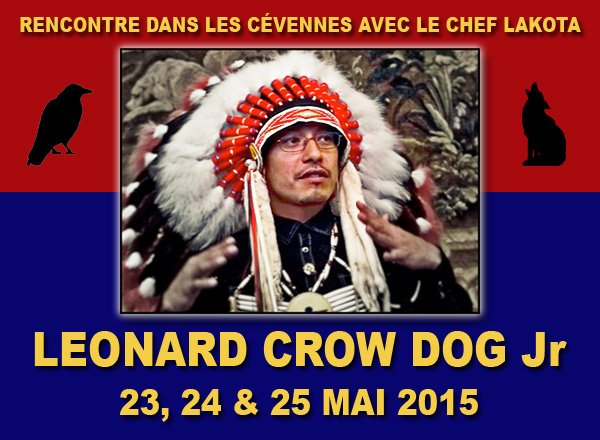 événement :de Maurice Rebeix © 2015  Chef Lakota Leonard Crow Dog