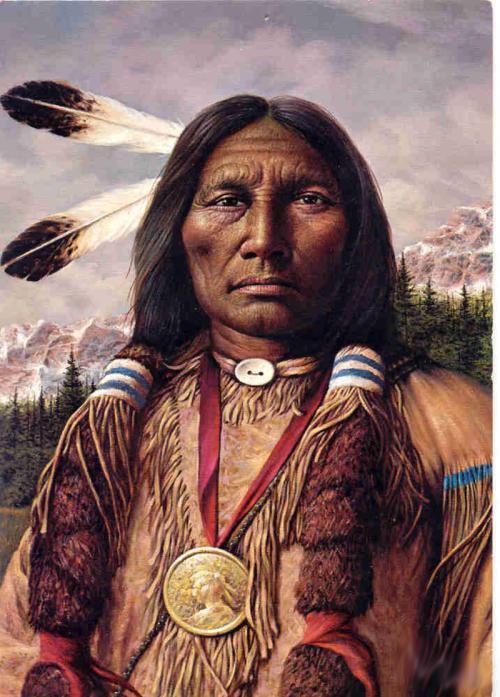Voici la raison pour laquelle les Amérindiens gardaient leurs cheveux longs
