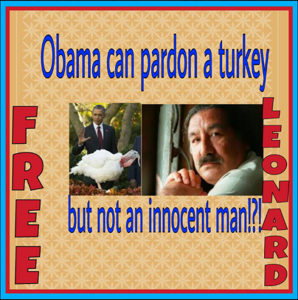 Adresse au président des USA pour la libération de Leonard Peltier, par ...
