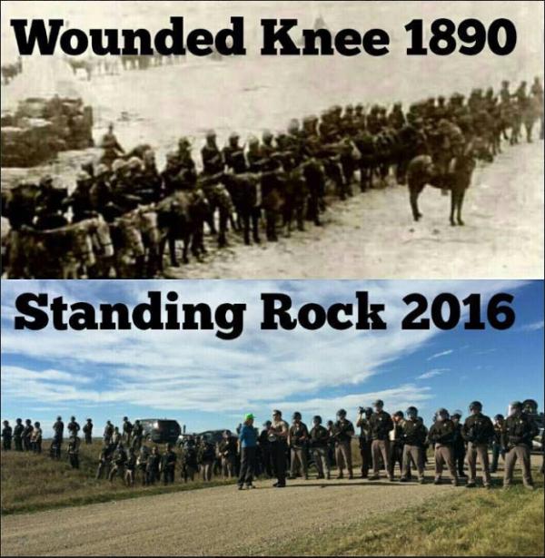 Etats-Unis : violente répression des Sioux opposés à un projet d'oléoduc