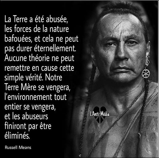 On ne vend pas la terre sur laquelle on marche ! »