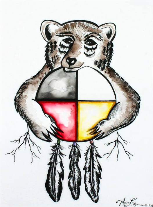 Le clan de L'ours conte native