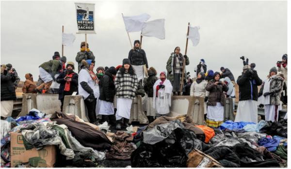 Standing rock, c'est la lutte tribale