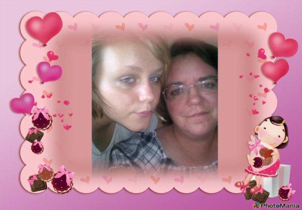 moua et ma blondasse d amour lol