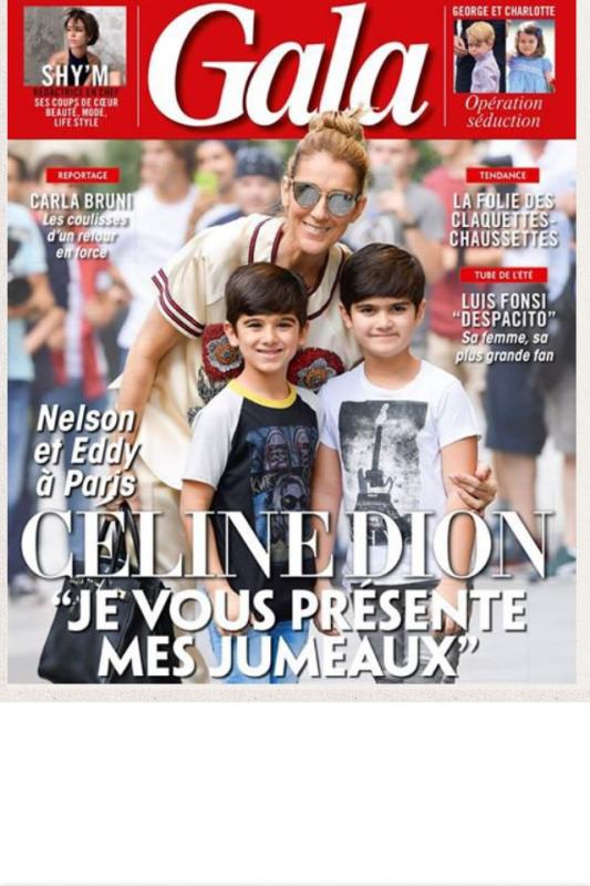 Celine fait la une du magazine Gala !!!