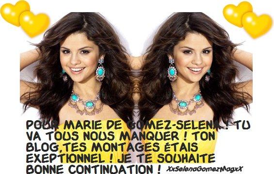 Pour Marie de Gomez-Selena!