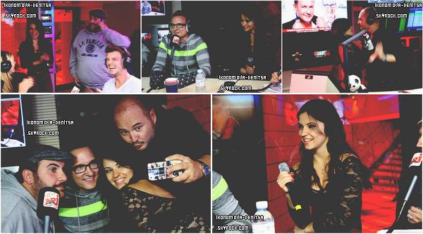 21.10.13 → Denitsa était présente dans l'émission « C'Cauet sur NRJ » au côté de Jean-Marc Généreux et Laurent Ournac.