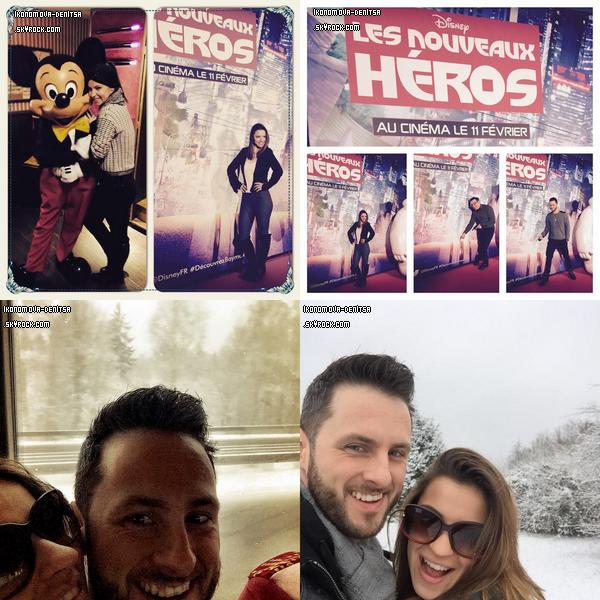 23 & 24.01.15 → La troupe DALS s'est déplacée à Amnéville le vendredi pour un nouveau show ainsi qu'à Strasbourg le samedi. C'est sous la neige que Rayane Bensetti et Denitsa ont gagné les deux spectacles. Samedi ils ont eu aussi fêté l'anniversaire de Silvia Notargiacomo sur la scène. Merci aux personnes qui ont filmé les vidéos.