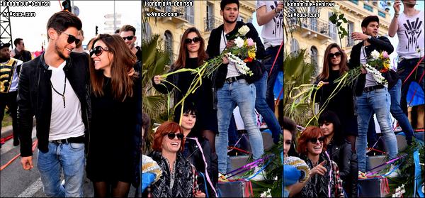 24.02.16. Après Rouen (où Denitsa et Rayane ont aussi gagné), la troupe s'est déplacée à Nice pour un nouveau spectacle. Mais avant ceci, ils sont allés au Carnaval de Nice dans l'après-midi. Et voici quelques clichés, où on peut toujours voir Denitsa et Rayane toujours aussi complices. Lors du spectacle de Nice, c'est Priscilla Betti et Christophe Licata qui ont été les vainqueurs. Le lendemain, ils se sont déplacés à Montpellier avec Loïc Nottet cette fois-ci, c'est d'ailleurs celui-ci et sa danseuse qui ont été les gagnants. Ce week-end, ils se déplacent à Lyon pour 4 spectacles, deux avec Loïc Nottet (le samedi) et deux autres avec Rayane Bensetti (vendredi et dimanche).
