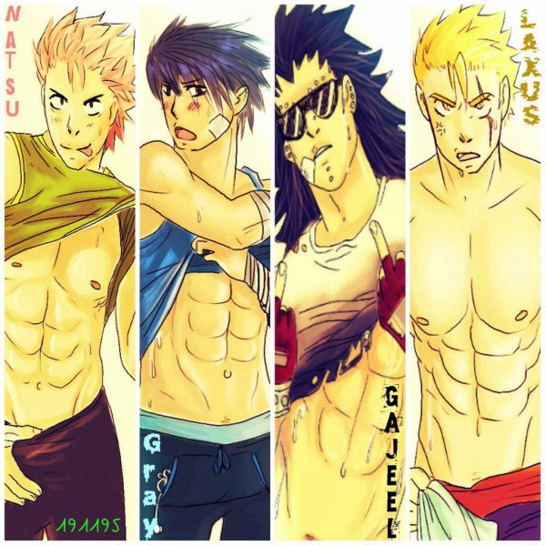 Fairy tail boys bande ?