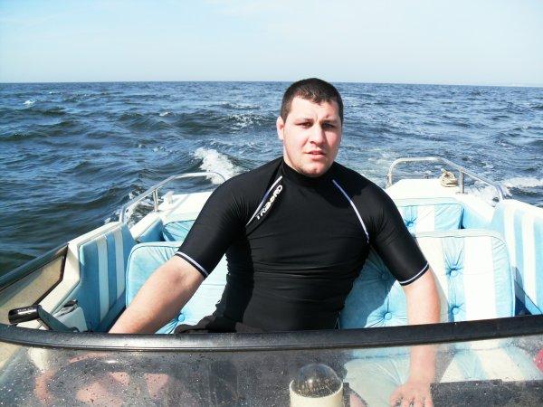 sa premiére sortie en mer