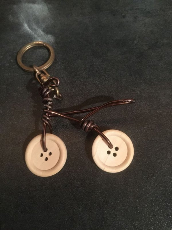 Porte-clés Boutons