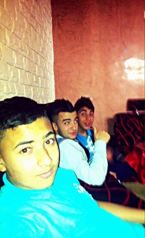 avec mes amis