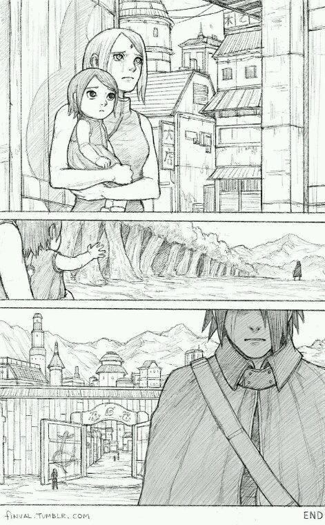 ✿ Au revoir Sasuke-kun/papa