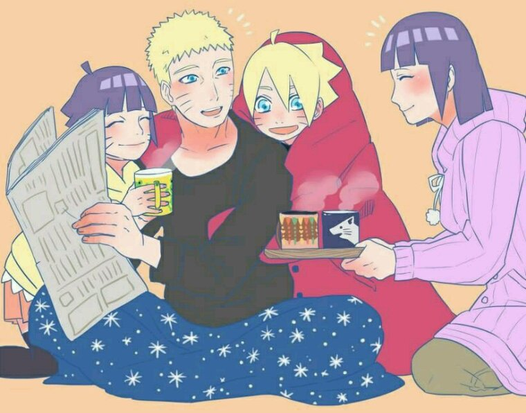 Naruto et sa famille!