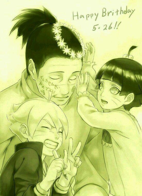 Itachisarada and IrukaBorutoHimawari