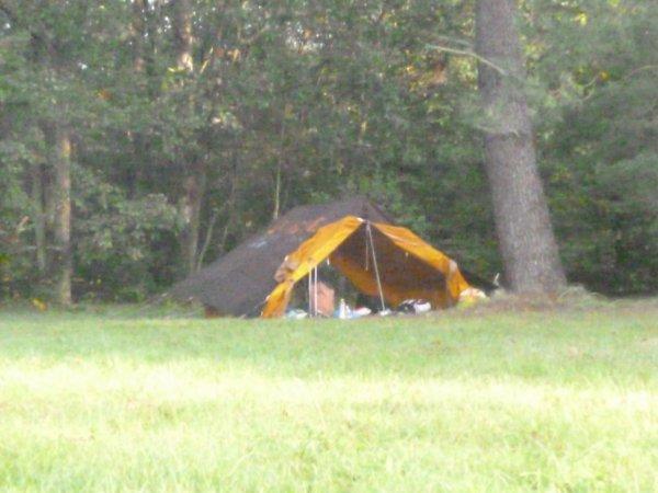 Notre magnifique tente