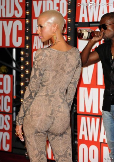 AMBER ROSE STYLE.