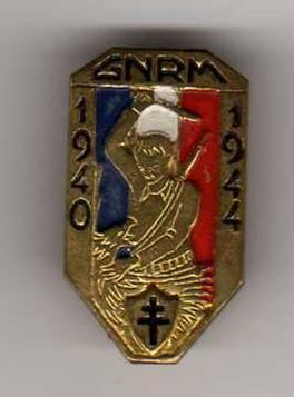 Insigne de boutonniere des GNRM