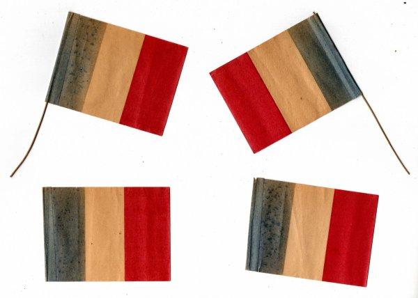 drapeau en papier
