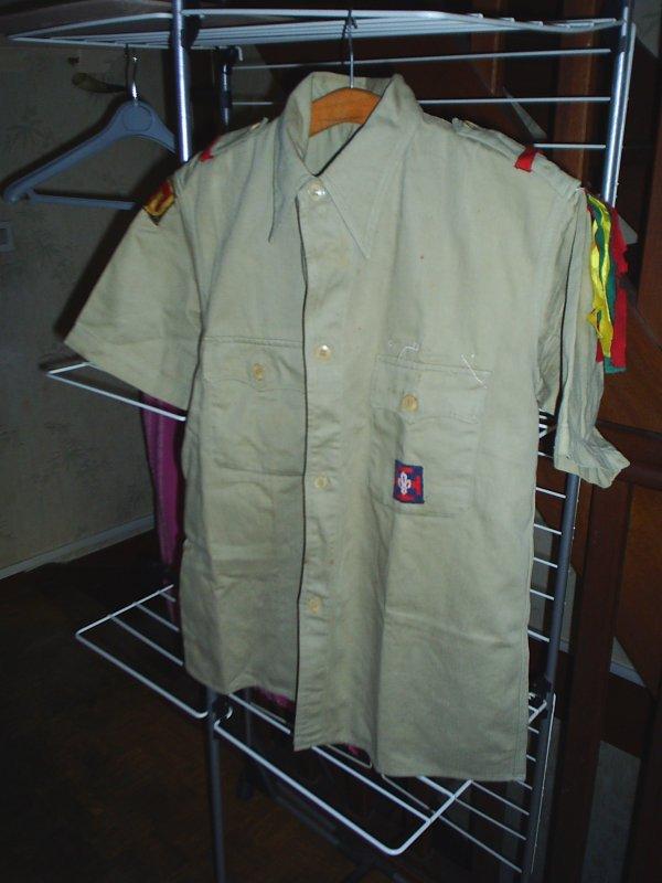 chemise de scout