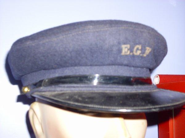 casquette employer E.G.F