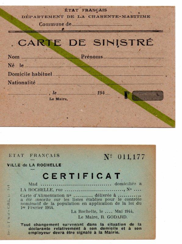Document Etat Français